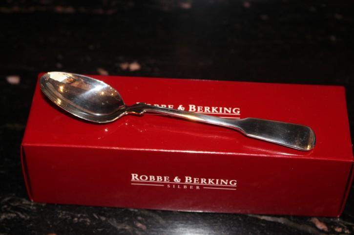 R&B Robbe & Berking Kaffee Löffel Spaten 800er Sterling Silber 130mm ca. 22g