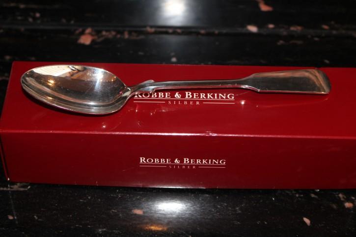 R&B Robbe & Berking Menü Löffel Spaten 800er Sterling Silber ca. 205mm ca. 66g