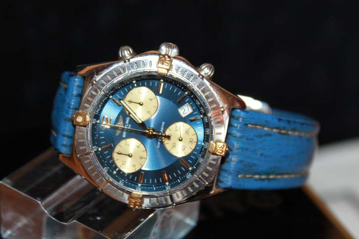 Breitling Sirius Chronograph B53011 Stahl / Gold in OVP & Papieren
