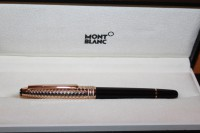 Montblanc Meisterstück Solitaire Doue Geometric Dimension N° 163 Roller Ball NEU