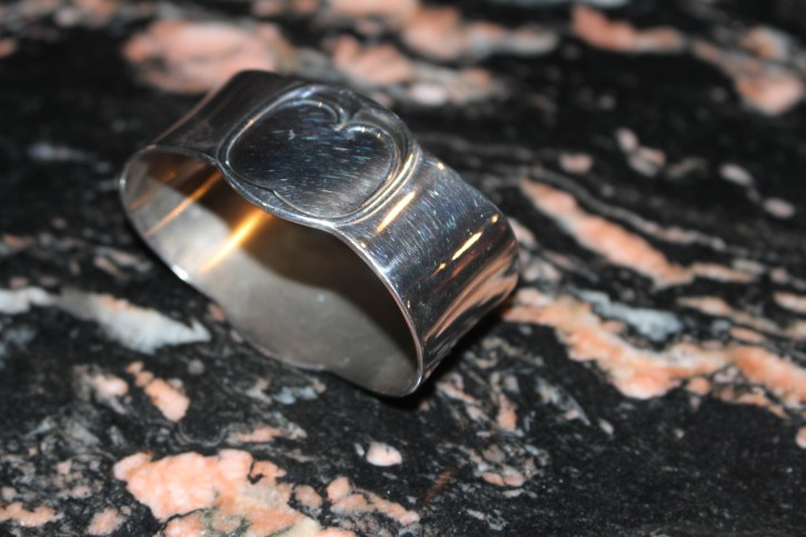 R&B Robbe & Berking Alt Faden Servietten Ring 925er Sterling Silber ca. 5,5cm
