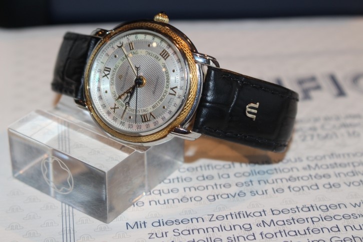 Maurice Lacroix Masterpiece Les Mecaniques LIMITED EDITION in Stahl / 750er Gold