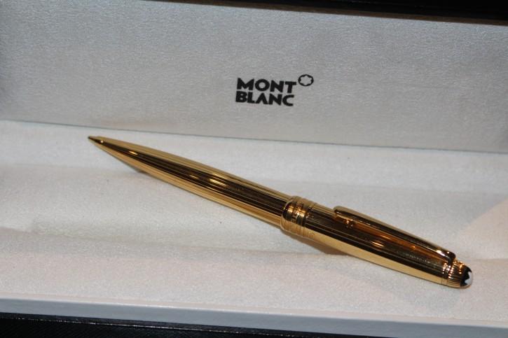 Montblanc Meisterstück Solitaire VERMEIL 925er Sterling Silber Bleistift TOP