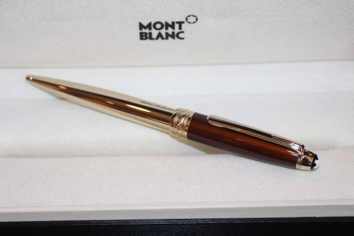 Montblanc Meisterstück Solitaire Citrine N° 164 Kugelschreiber ID 07573 Neu OVP