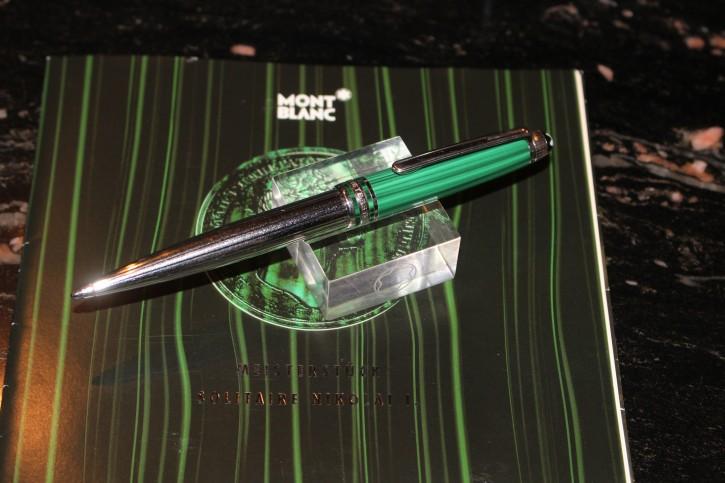 Montblanc Limited Edition Zar Nikolai PLATINUM N° 164 Kugelschreiber / Ball Pen