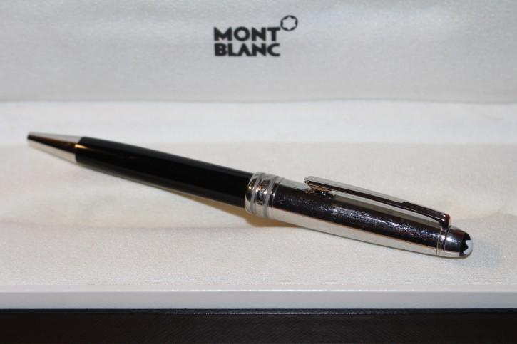 Montblanc Meisterstück Solitaire N° 164 Platin Steel Doue´ Kugelschreiber