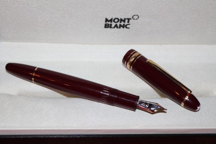 Montblanc Meisterstück Le Grand N° 146 Füllfederhalter Bordeaux