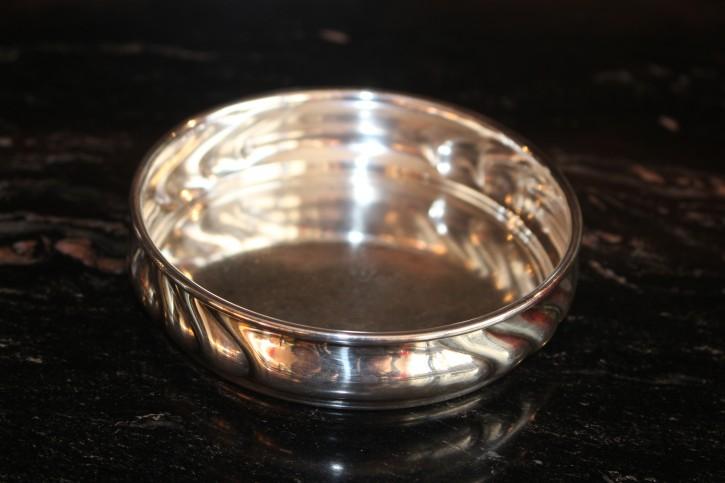 WTB Flaschenhalter Untersetzer 925er Sterling Silber ca. 10 x 3cm & 60g
