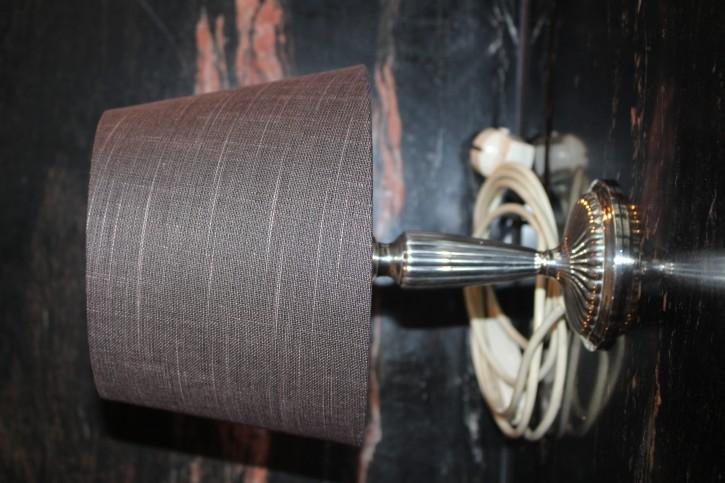 Edle Lampe Tischlampe 925er Sterling Silber Gayer & Kraus (?) Schäbisch Gmünd 30cm
