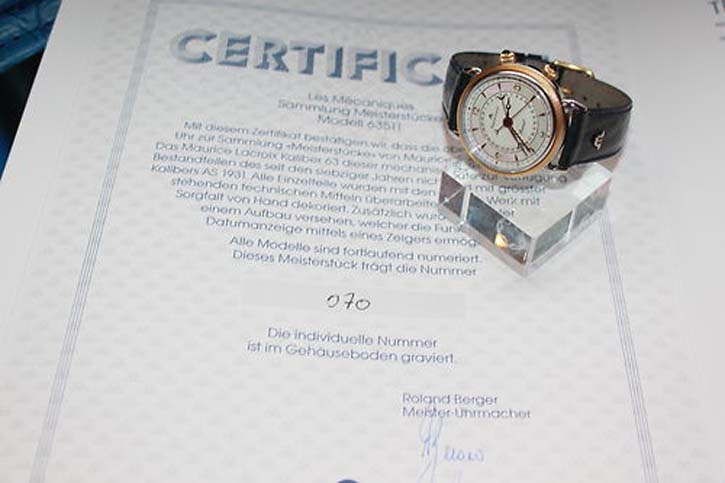 Maurice Lacroix Masterpiece Reveil - LIMITED EDITION - Stahl / 750er Massivgold