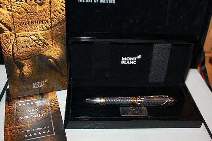 Montblanc 4810 Limited Edition 2009 Max von Oppenheim Füller, Neu in OVP