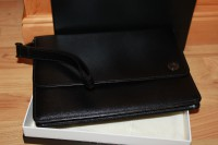 Montblanc 4810 Westside Clunch Bag / Handgelenk Tasche Tasche NEU - GROßes Model
