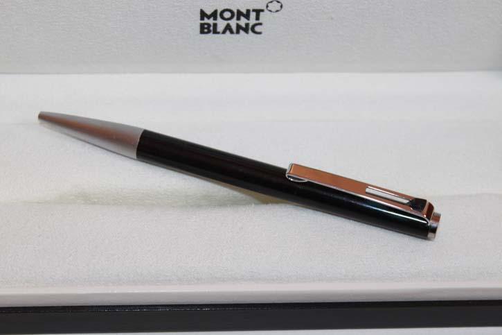Montblanc 782 Hebel Kugelschreiber in schwarz und silber