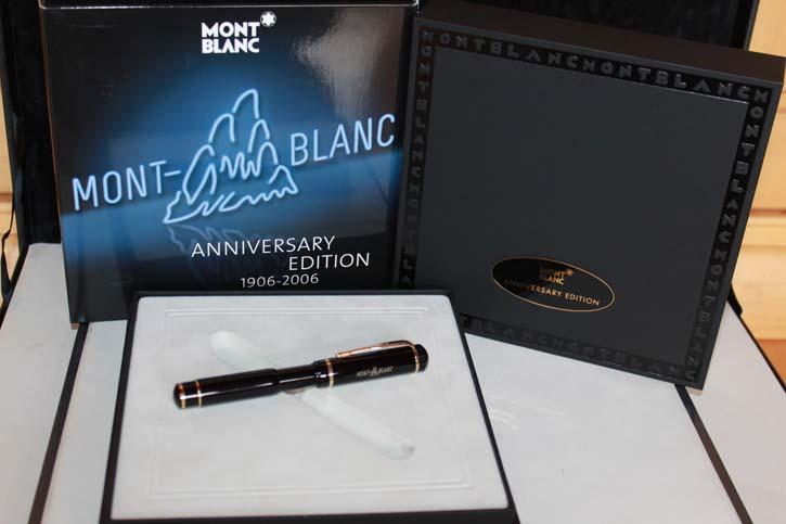 Montblanc Anniversary Roller Ball Limited Edition 2006 in OVP mit Papieren