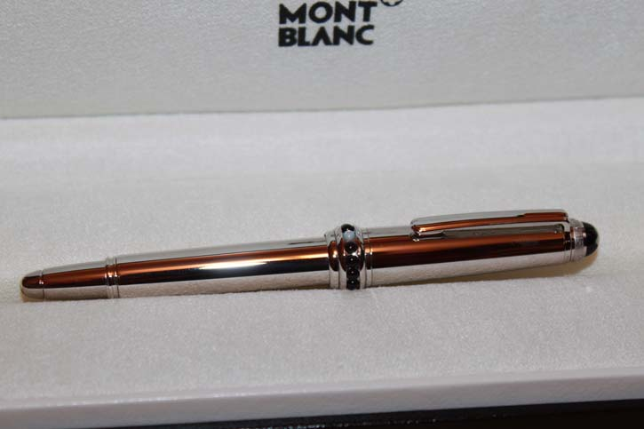 Montblanc Artisan Collection *White Pearl Magic Beauty* Mozart Füllfederhalter Neu in OVP