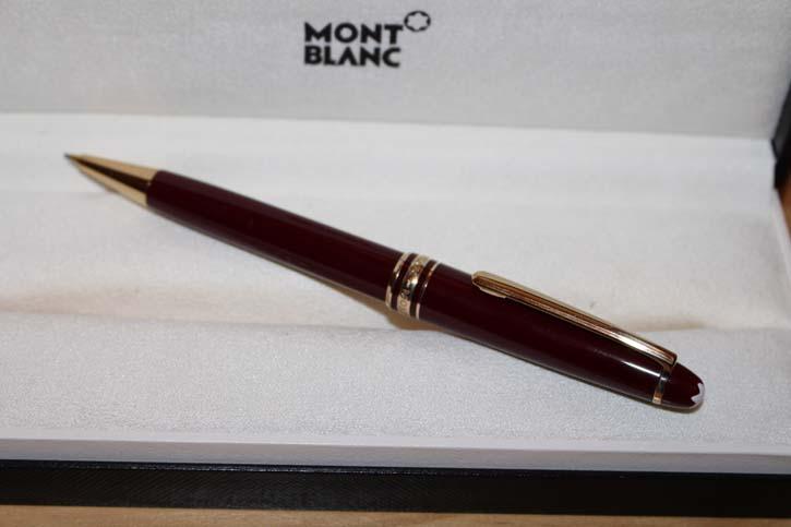 Montblanc Meisterstück N° 165 Bleistift in Bordeaux und Gold