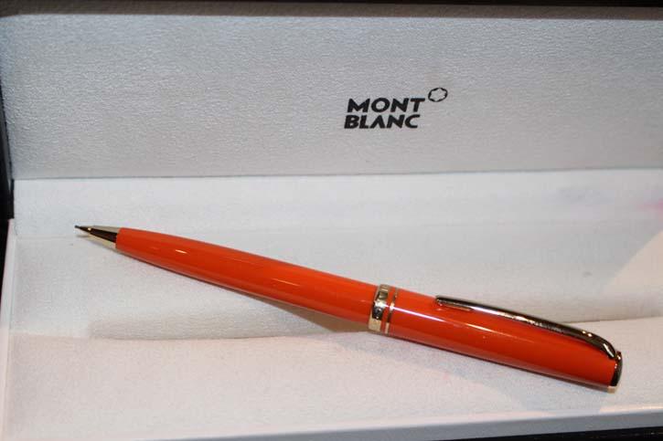Montblanc Generation Bleistift in ORANGE und gold Neu, Mont Blanc