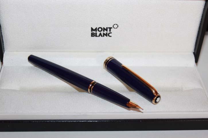 Montblanc Generation Füllfederhalter in Nachtblau und Gold