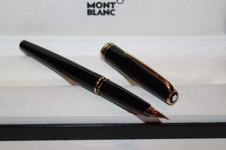 Montblanc Generation Füllfederhalter in Schwarz und Gold