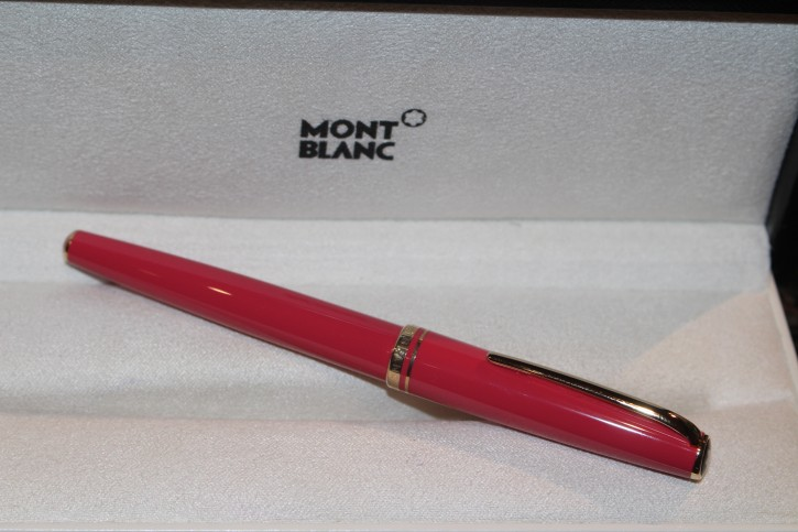 Montblanc Generation Roller Ball / Fineliner in Pink und Gold, Mont Blanc