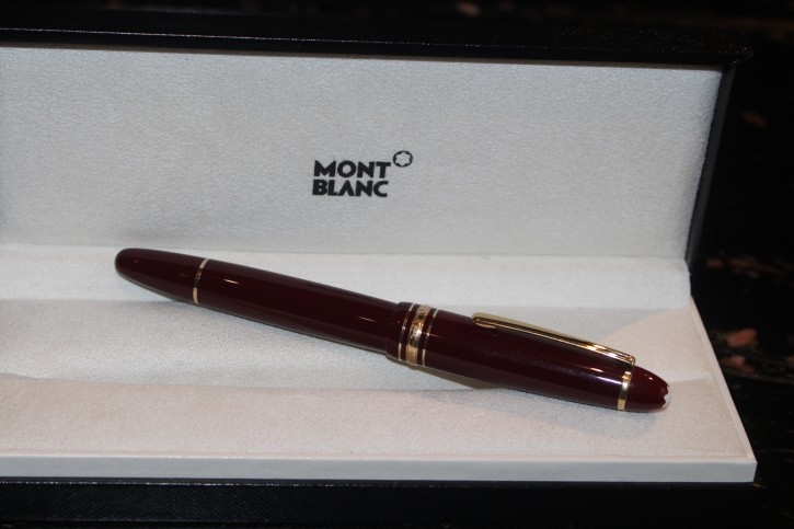 Montblanc Meisterstück LE GRAND N° 162 Roller Ball in Bordeaux & Gold
