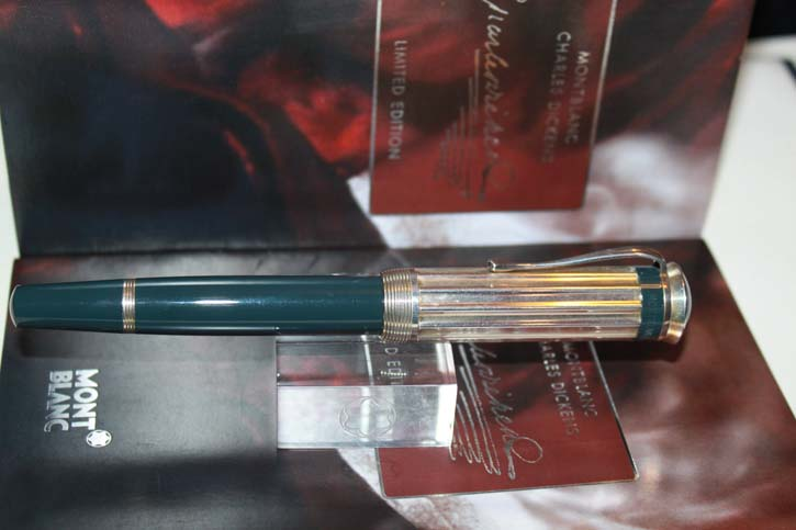 Montblanc Limited Edition 2001 Charles Dickens Füllfederhalter in OVP