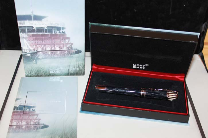Montblanc Limited Edition 2010 Mark Twain Füllfederhalter in OVP