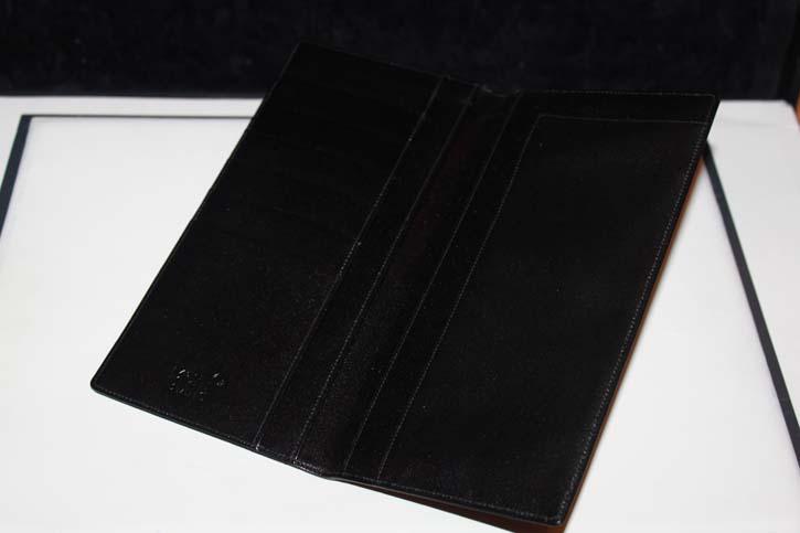 Montblanc Meisterstück Reise Brieftasche / 6cc Wallet aus Leder in schwarz neuwertig