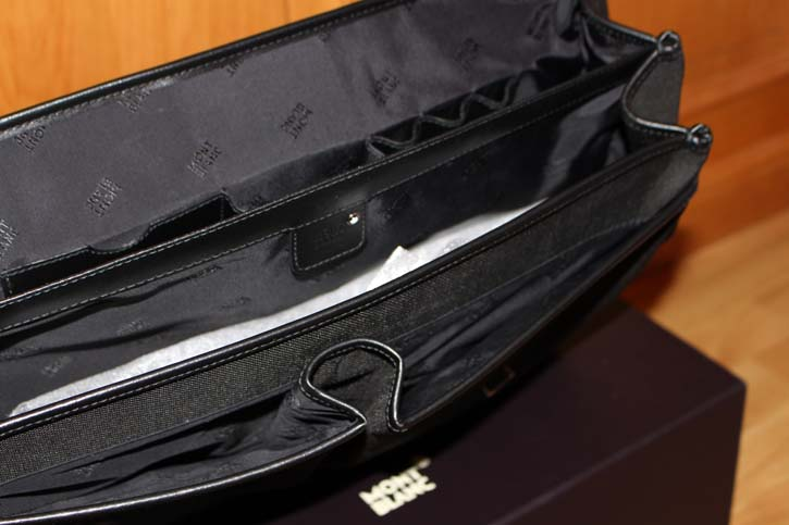 Montblanc Meisterstück Canvas Laptop Tasche TOP in OVP 43 x 33 x 12 cm