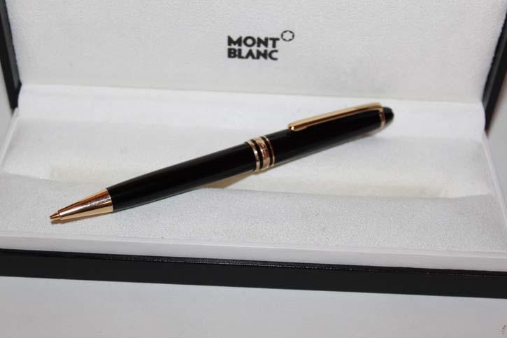 Montblanc Meisterstück Classic N° 165 Bleistift in Schwarz und Gold