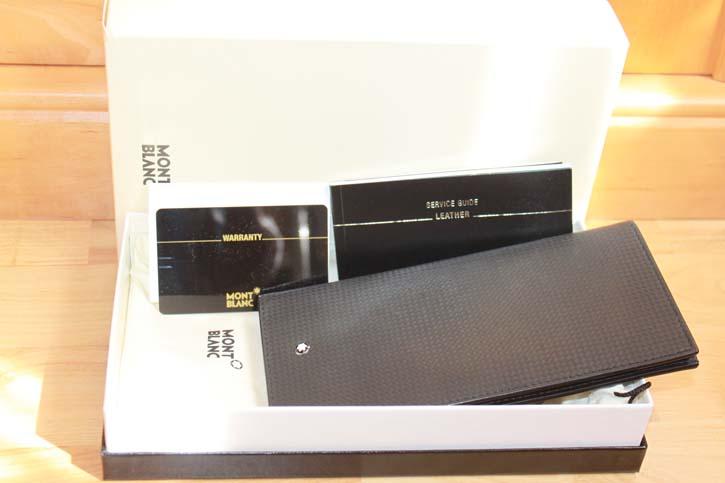 Montblanc Meisterstück Extreme 12cc Long Wallet / Brieftasche schwarz in OVP
