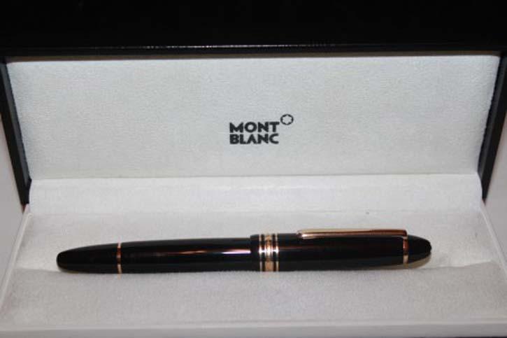 Montblanc Meisterstück Le Grand N° 146 Füllfederhalter schwarz