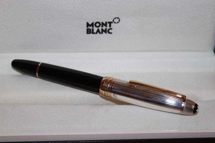 Montblanc Meisterstück Le Grand N° 146 Solitaire Doué Füller in OVP