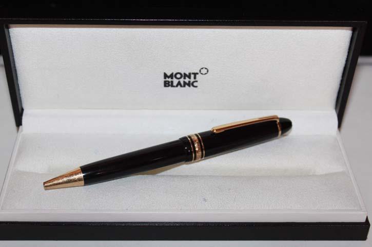 Montblanc Meisterstück Le Grand N° 161 Kugelschreiber schwarz