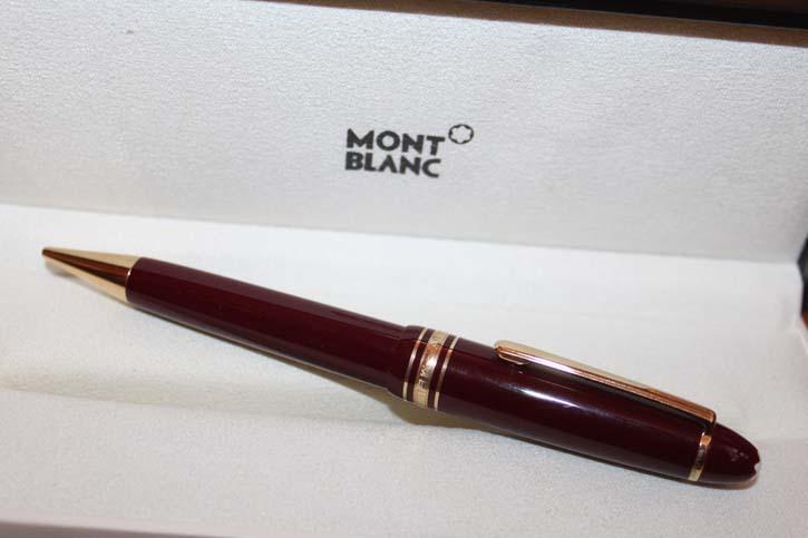 Montblanc Meisterstück Le Grand N° 167 Bleistift in Bordeaux und gold