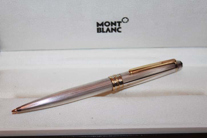 Montblanc Meisterstück Solitaire N° 165 aus 925er Sterling Silber Bleistift