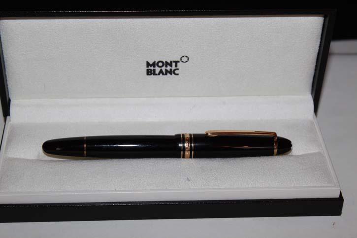 Montblanc Meisterstück Le Grand N° 166 Text Marker in Schwarz