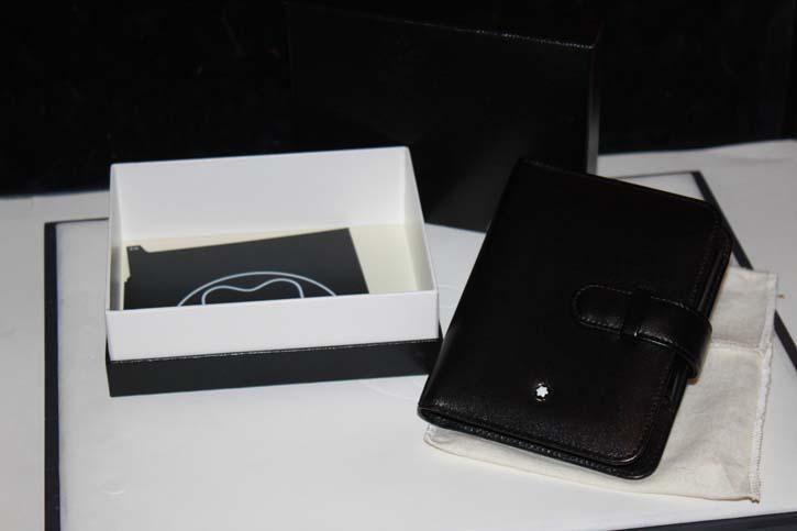 Montblanc Meisterstück Pocket Organizer / Timer 12 x 9 cm aus Leder in OVP