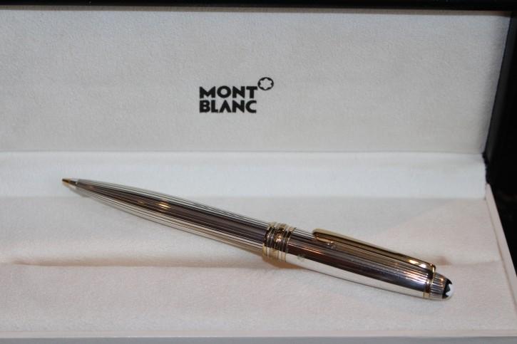 Montblanc Meisterstück Solitaire 925er Sterling Silber Bleistift Faden Guilloche