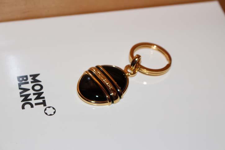 Montblanc Meisterstück Solitaire Onyx Schlüsselanhänger Key Ring