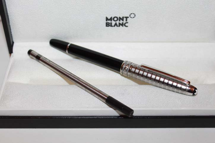 Montblanc Meisterstück N° 163 Stainless Steel Doue´ II Roller Ball