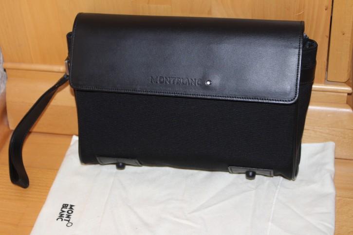 montblanc nightflight clunch bag herren reise tasche. Black Bedroom Furniture Sets. Home Design Ideas