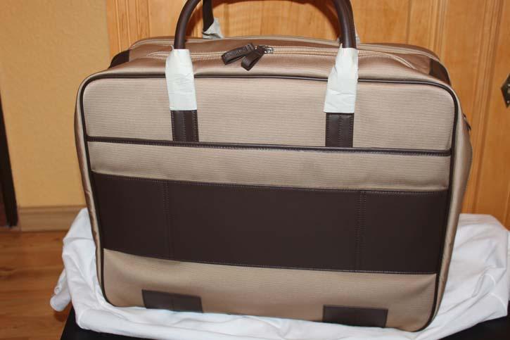 Montblanc Nightflight große Reisetasche / Laptop Tasche 48 x 38 x 18cm Neu in OVP