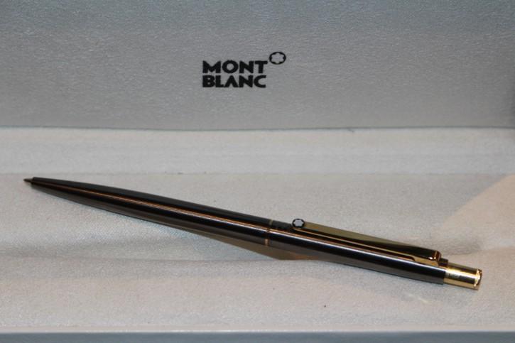 Montblanc Slim Line Bleistift in Bronze & Gold aus den 80er Jahre, Mont Blanc