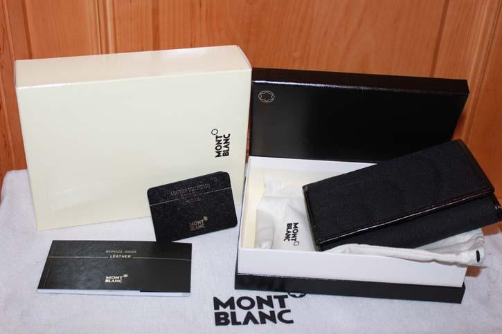 Montblanc Starisma Pamina Damen Geldbörse / 5cc Wallet mit Reissverschluss Neu in OVP