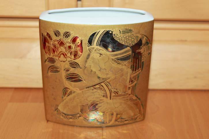 Rosenthal - Björn Wiinblad Scheherazade Vase 10 x 6 x 10 cm