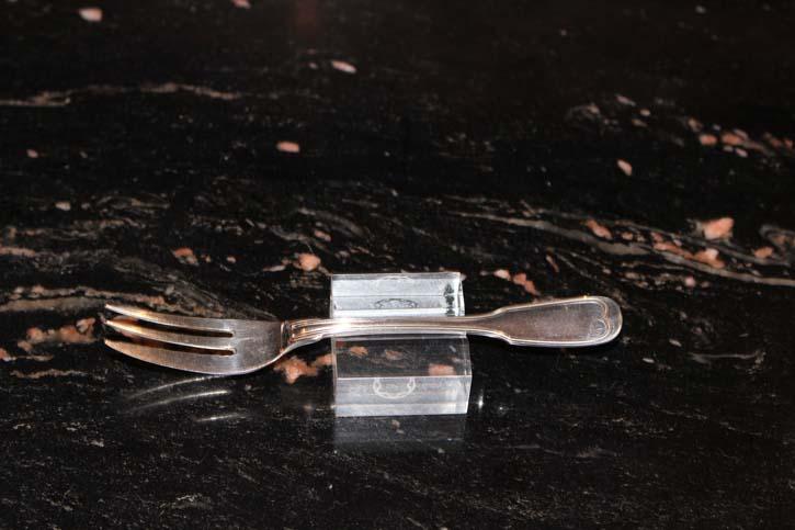 Wilkens Augsburger Faden Kuchen Gabel 800er Silber ca. 15 cm und 25,4 Gramm