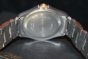 Baume & Mercier Classica Executive MV 045045 Stahl / 750er Gold in OVP