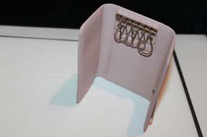 Montblanc Schlüsseletui Ladystar Collection Leder in Rosa