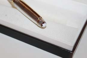 Montblanc Meisterstück Solitaire N° 163 Roller Ball aus 925er Sterling Silber